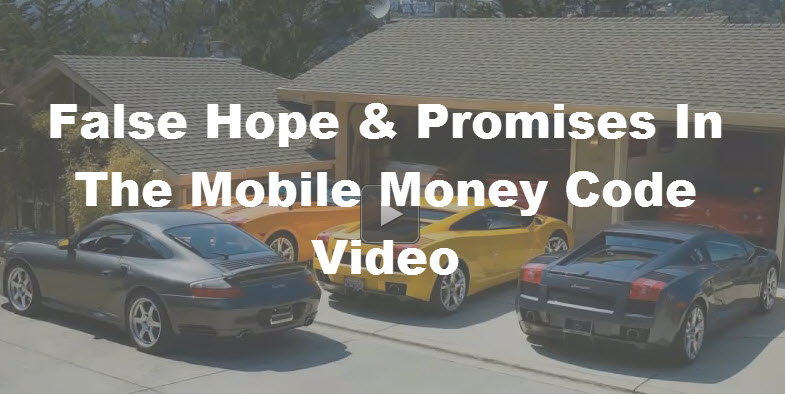 Mobile Money Code Scam