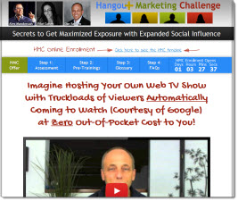Hangout Marketing Challenge Review